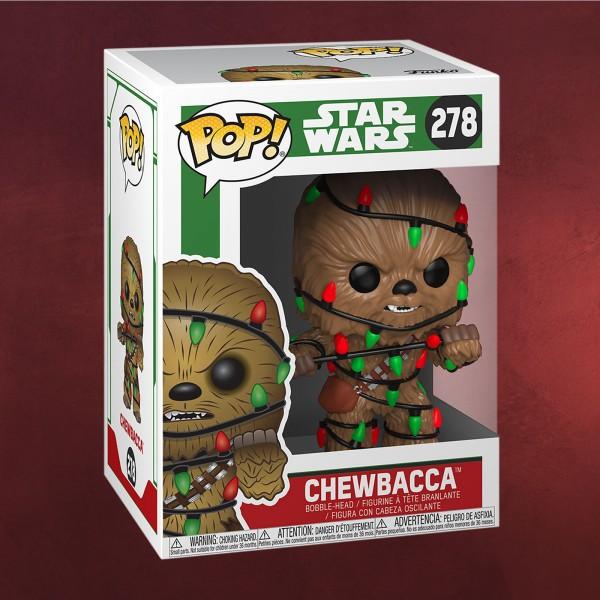 Star Wars - Chewbacca Christmas Funko Pop Wackelkopf-Figur
