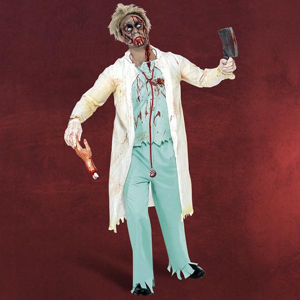 Zombie Doktor Kostüm Herren