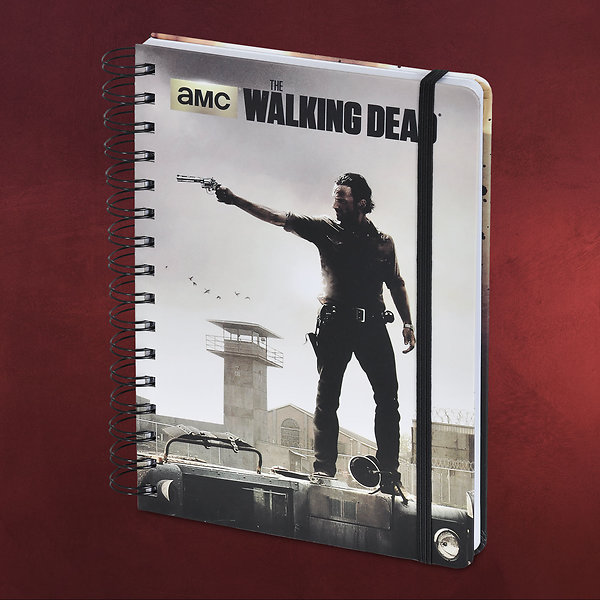Walking Dead - Rick Grimes Notizbuch A5
