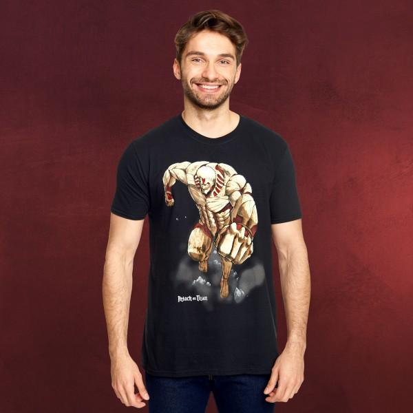 Attack on Titan - Armored Titan T-Shirt schwarz