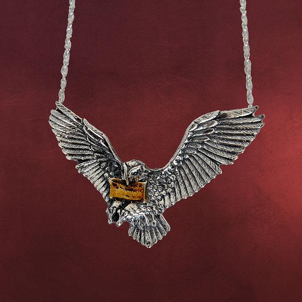 Hedwig, Harrys Zaubereule - Anhänger mit Kette