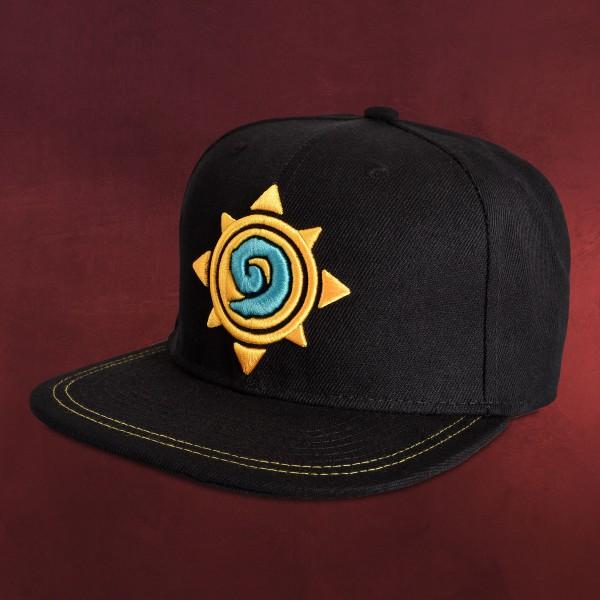 Hearthstone - Logo Snapback Cap schwarz