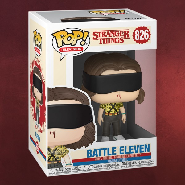 Stranger Things - Battle Eleven Funko Pop Figur