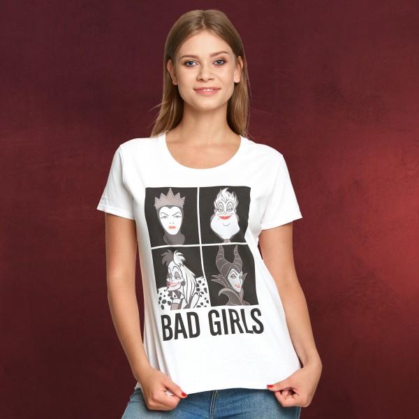 Disney - Villains Bad Girls T-Shirt Damen weiß