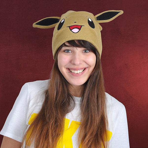 Pokemon - Evoli Beanie braun