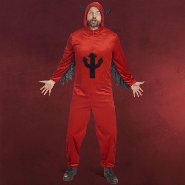 Teufel Overall - Kostüm Herren