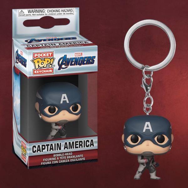 Avengers - Captain America Endgame Funko Pop Schlüsselanhänger