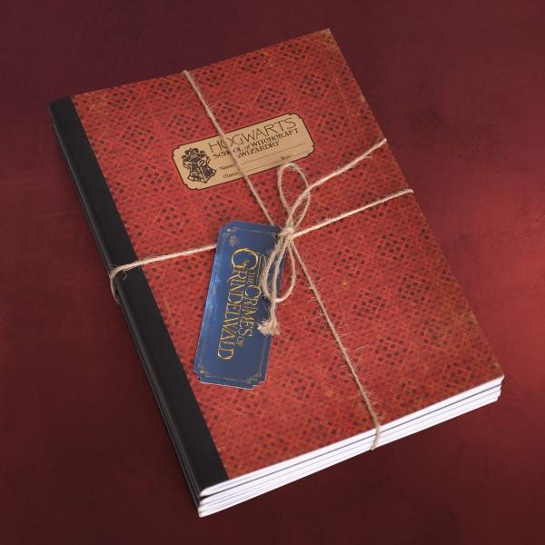 Hogwarts Notizbücher 4er Set - Phantastische Tierwesen