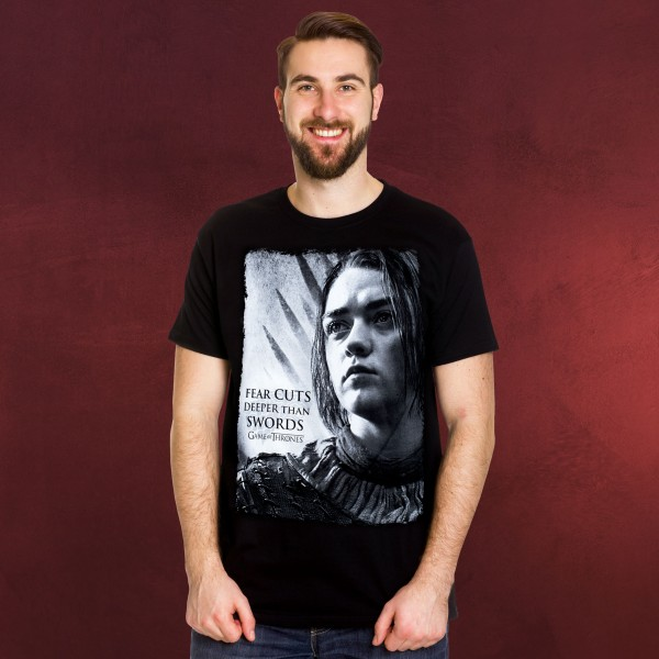 Game of Thrones - Arya Deeper than Swords T-Shirt