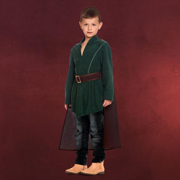 Legolas Kinder Kostüm mit Cape für Herr der Ringe Fans