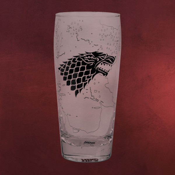 Game of Thrones - Schattenwolf Glas XL