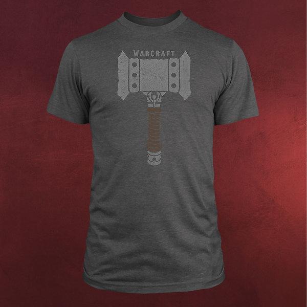 Warcraft - Doomhammer T-Shirt grau