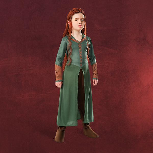 Der Hobbit - Tauriels Elben Kostüm für Kinder
