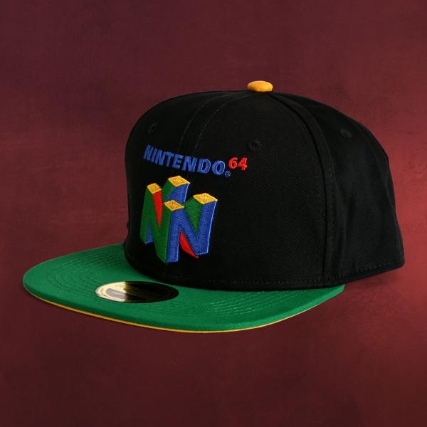Nintendo - N64 Logo Snapback Cap