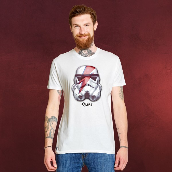 Star Wars - Stormtrooper Rebel T-Shirt weiß