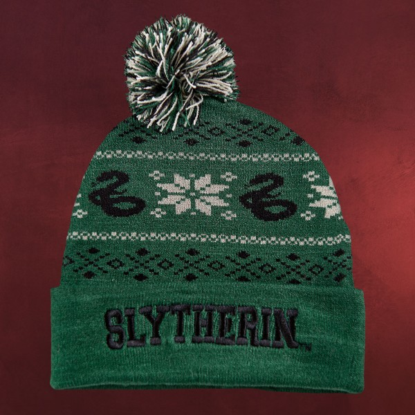 Harry Potter - Slytherin Norwegermütze grün