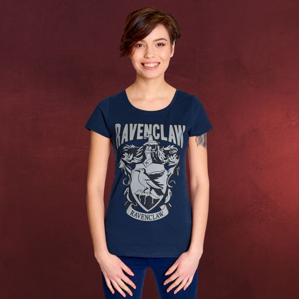 Harry Potter - Ravenclaw Wappen T-Shirt Damen blau