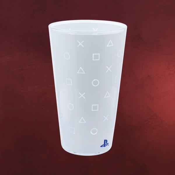 PlayStation - PS5 Button-Symbols Glas