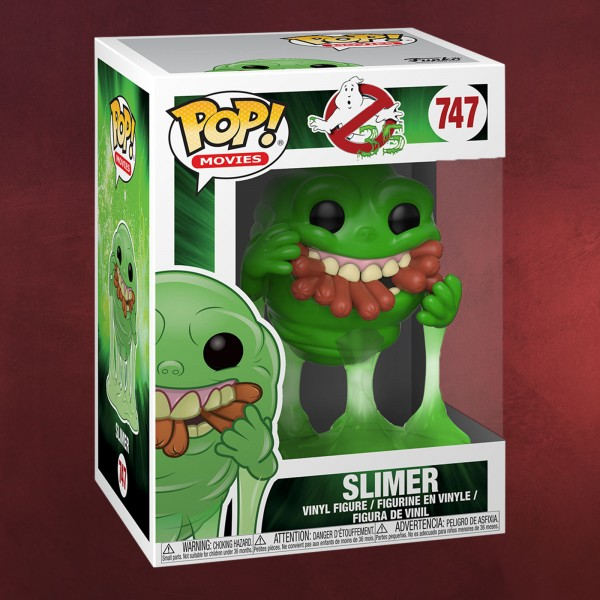 Ghostbusters - Slimer mit Hot Dog Funko Pop Figur