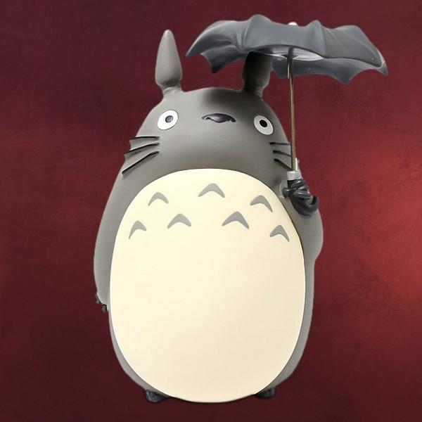 Totoro mit Regenschirm Spardose
