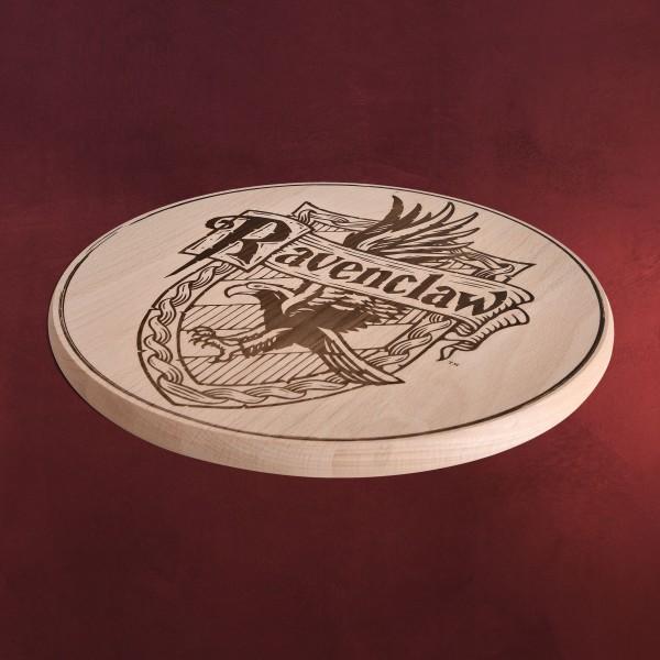 harry potter ravenclaw wappen schneidebrett buche