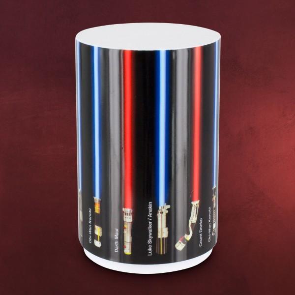 Star Wars - Lichtschwert Mini Tischlampe mit Sound