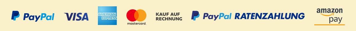 Zahlungsarten-Logos