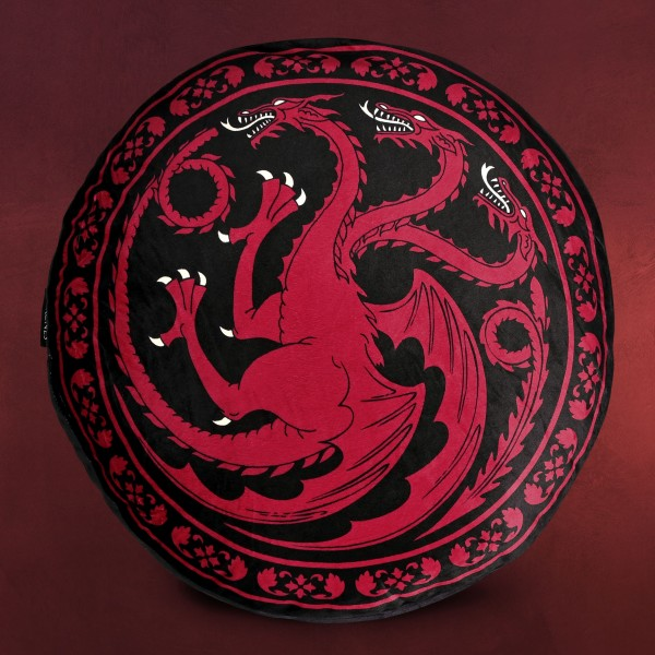 Game of Thrones - Targaryen Wappen Sitzkissen