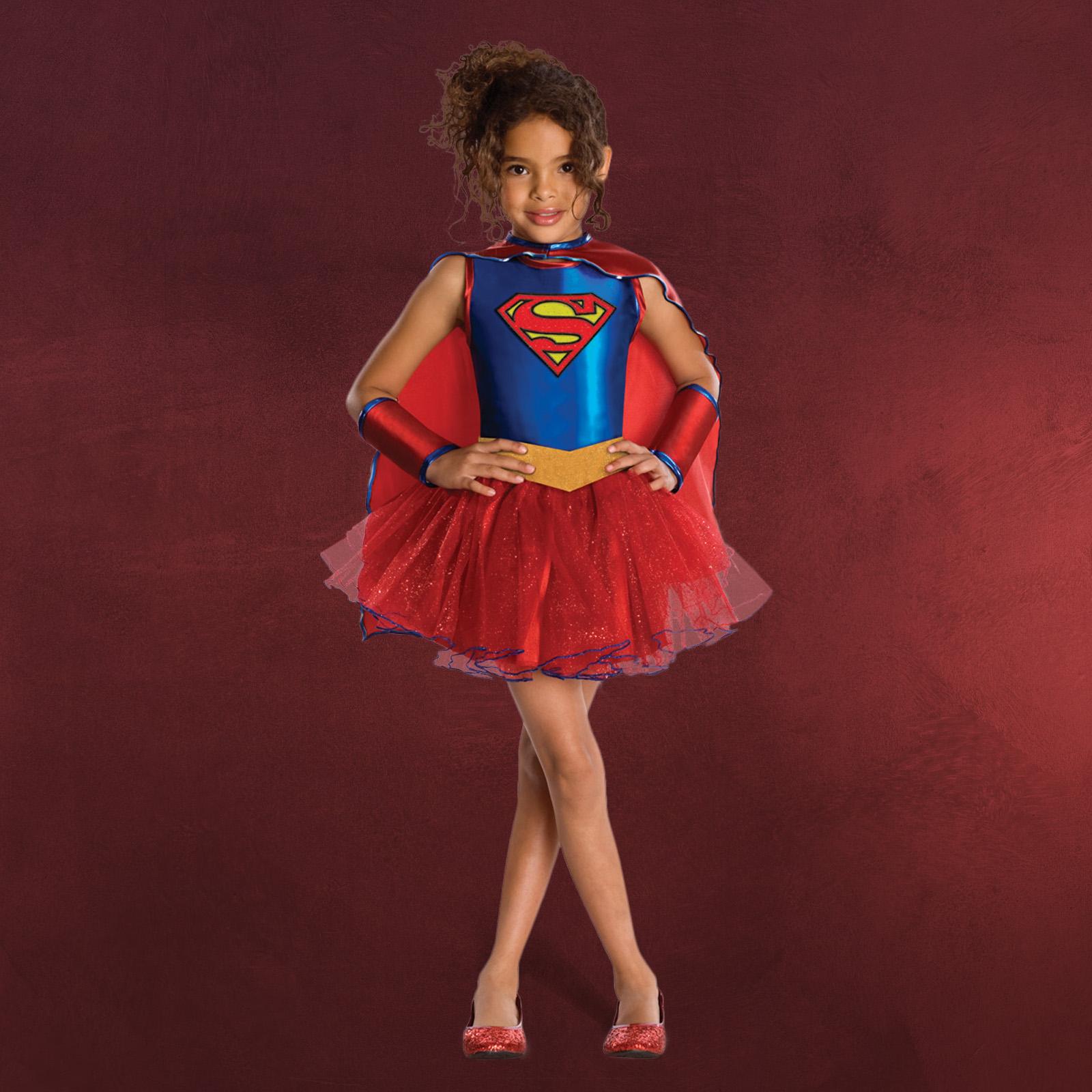 supergirl tutu kost m kinder elbenwald. Black Bedroom Furniture Sets. Home Design Ideas