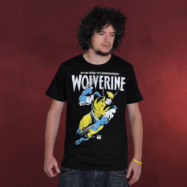 Wolverine - Adamantium T-Shirt