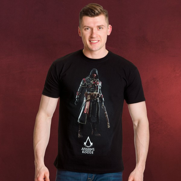 Assassins Creed - Shay Patrick Cormac T-Shirt schwarz