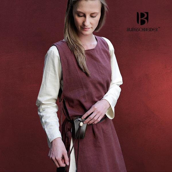 Mittelalter Überkleid Haithabu braun
