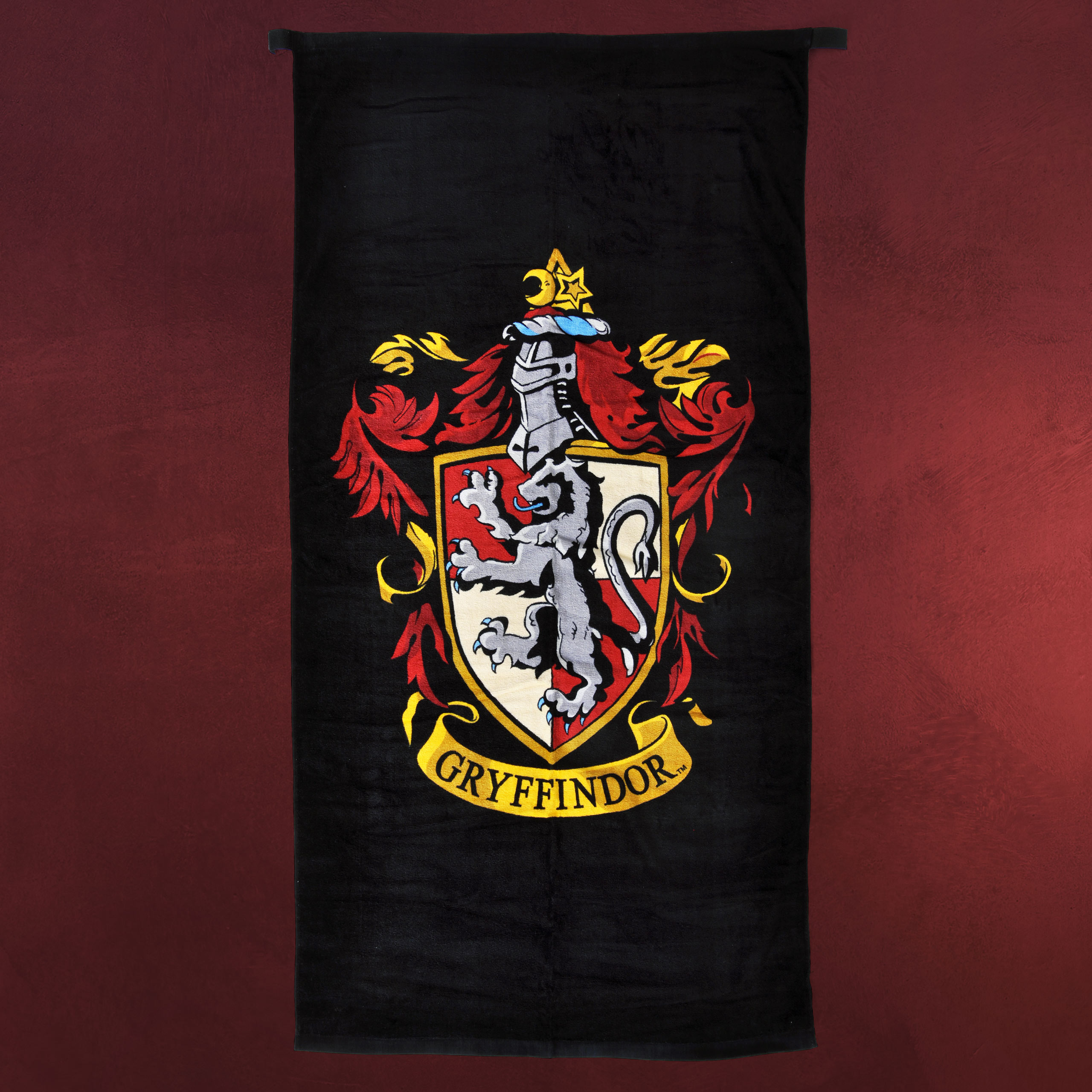 harry potter gryffindor wappen badetuch elbenwald. Black Bedroom Furniture Sets. Home Design Ideas