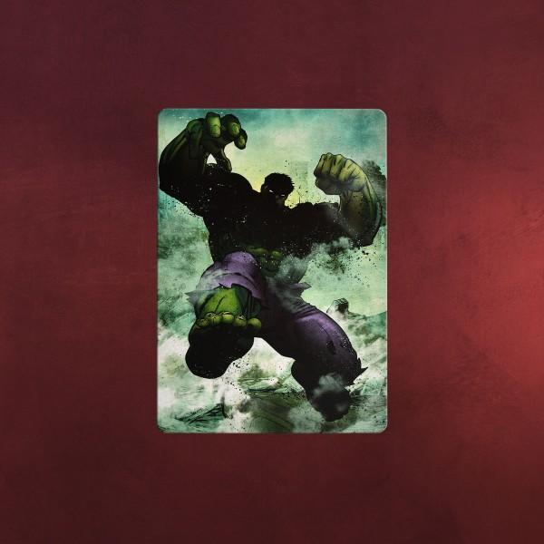 Hulk Mini Metall Poster