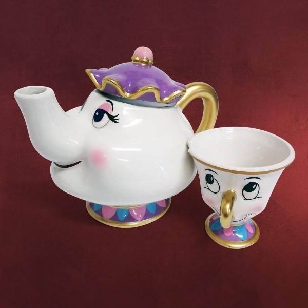 Die Schöne und das Biest - Madame Pottine & Tassilo Tee-Set