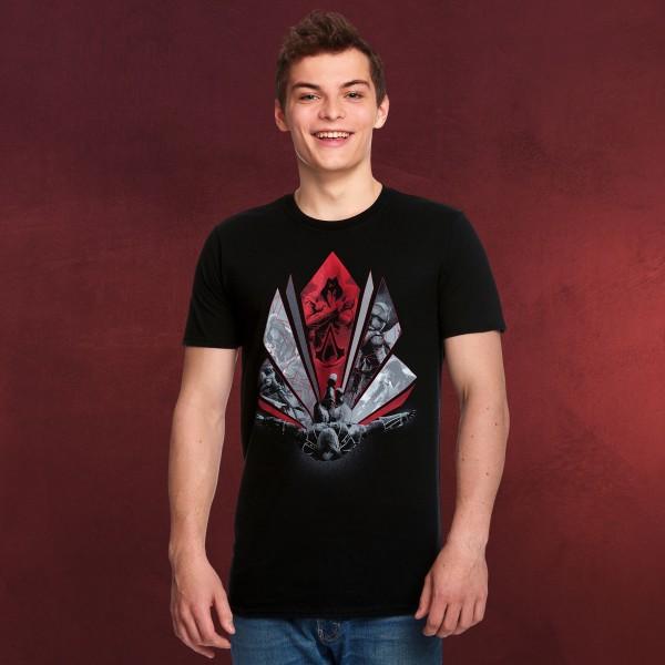 Assassins Creed - Eagle Dive T-Shirt schwarz