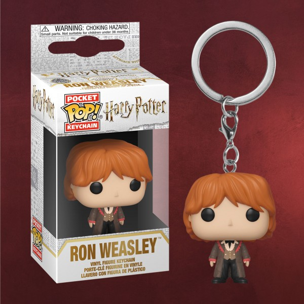 Harry Potter - Ron Yule Ball Funko Pop Schlüsselanhänger