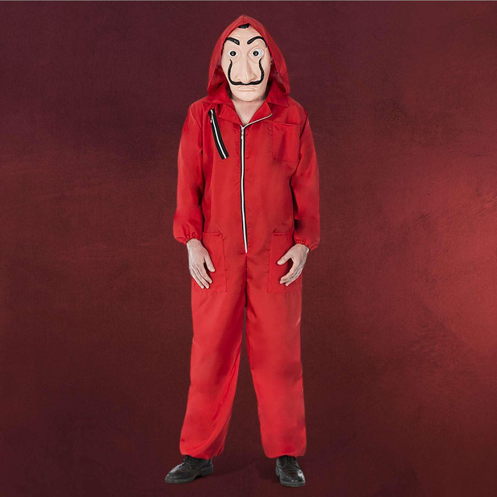 Roter Räuber Kostüm Für Haus Des Geldes Fans Elbenwald