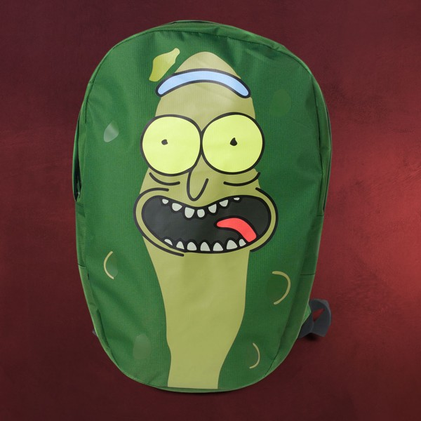 Rick and Morty - Pickle Rick Rucksack grün