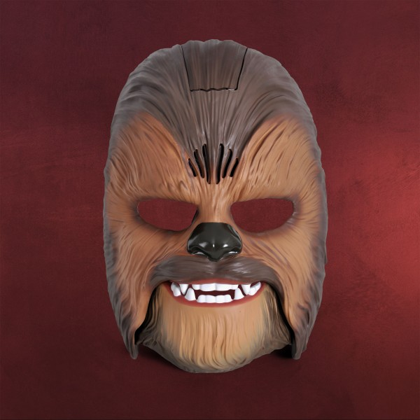 Star Wars - Chewbacca Maske mit Sound