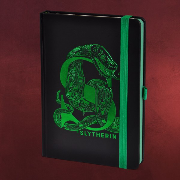 Harry Potter - Slytherin Art Premium Notizbuch A5