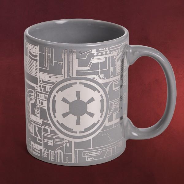 Star Wars - Todesstern Metallic Tasse