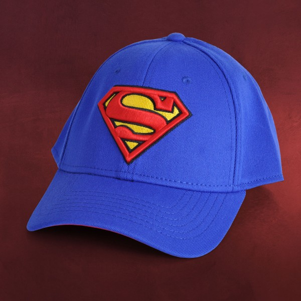 Superman - Logo Basecap blau