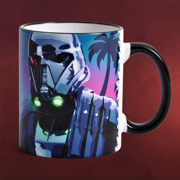 Death Trooper Scarif Night - Rogue One Tasse