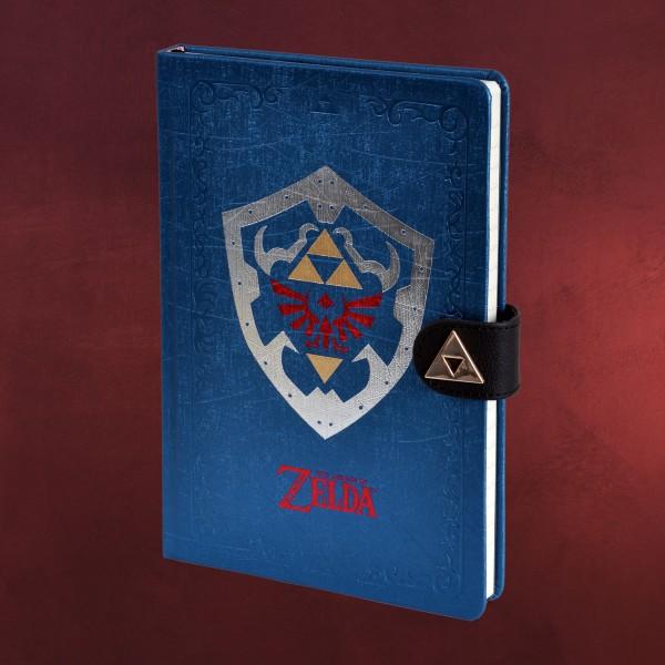 Zelda - Hylia Schild Premium Notizbuch A5