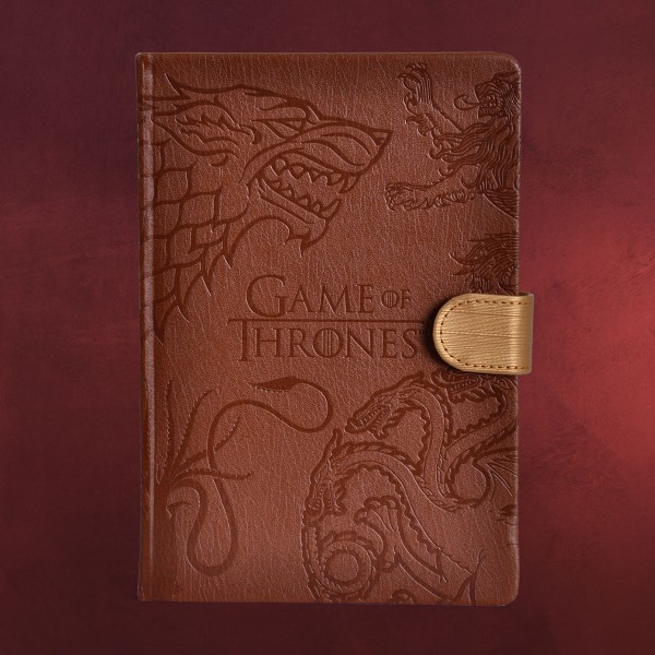 Game of Thrones - Häuser Wappen Premium Notizbuch A5