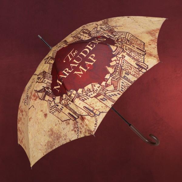 Harry Potter - Karte des Rumtreibers Schirm beige