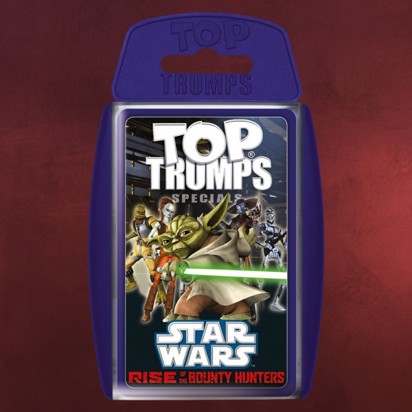 Star Wars - Rise of the Bounty Hunters Top Trumps