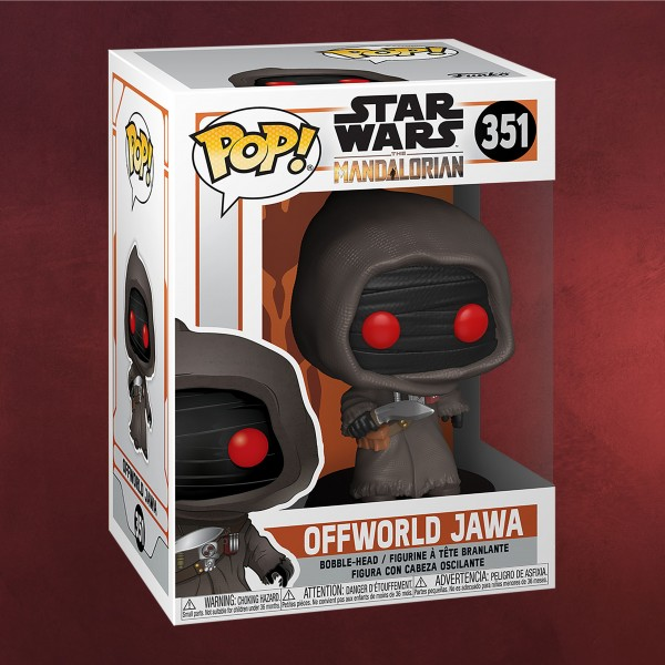 Offworld Jawa Funko Pop Wackelkopf-Figur - Star Wars The Mandalorian