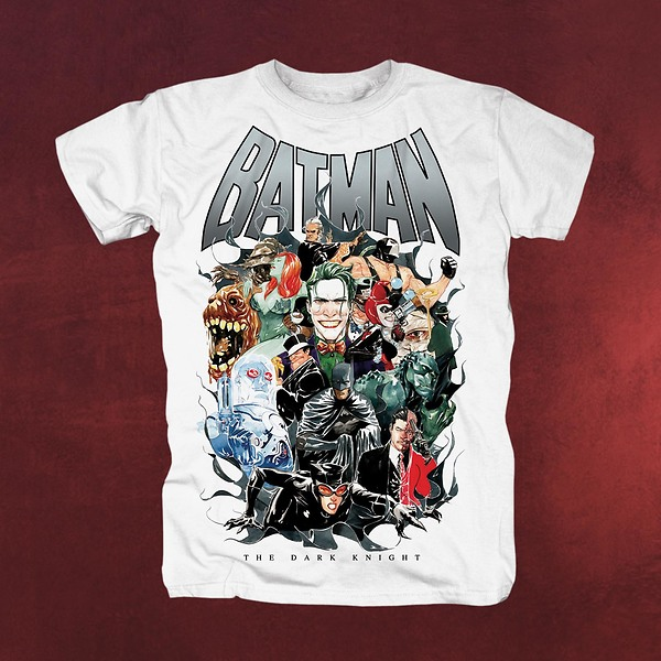Batman - Villains T-Shirt weiß